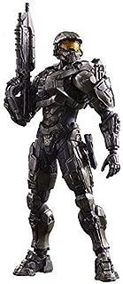 Skwenp Black Panther Anime Game Halo 5:Guardians Master Chief Action Figure Playarts Kai Figurine Kids Hot Toys Model Play Arts Kai