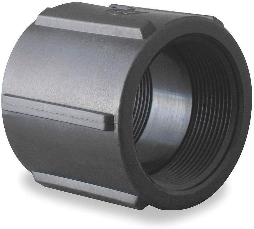 Arlington Fixed price for sale Mall CPLG050 Pipe Coupling 1 2 In PSI 150 Black FPT