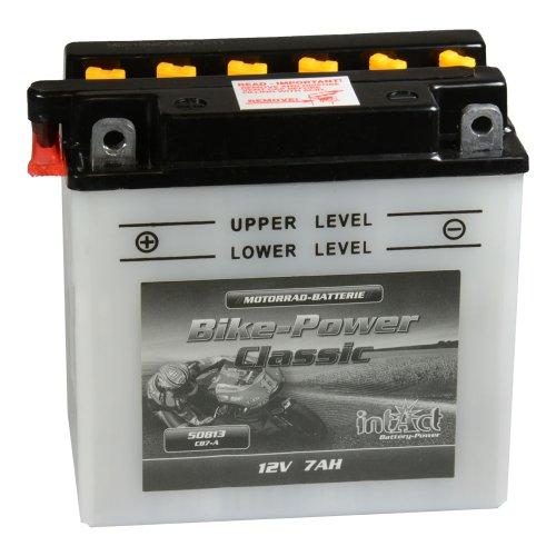 Preisvergleich Produktbild Intact Bike Power Motorrad Batterie CB 7-A mit Säurepack