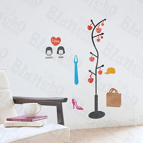 You & Me – Patchs Rouge Stickers muraux Stickers Home Decor