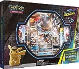 Un Pokémon ombragé hanté Ryme City : Greninja-GX ! Célébrez le film Pokémon Detective Pikachu avec une carte promo en aluminium et une carte surdimensionnée avec Greninja-GX. Déchirez 5 boosters spéciaux Pokémon : boosters détecteurs Pikachu, plus 2 ...