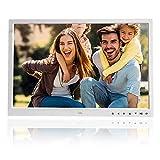 17 pollici 1920x1080 HD Cornice digitale,alta risoluzione,Supporta lettore musicale e video,...
