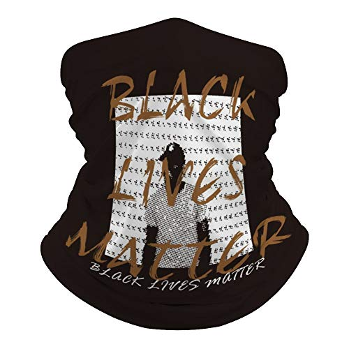 Black Lives L4p6u33zw1zk Foulard polyvalent anti-raciste Imprimé bandeau hippie cravate cache-cou pour extérieur résistant à la poussière 50 x 25 cm