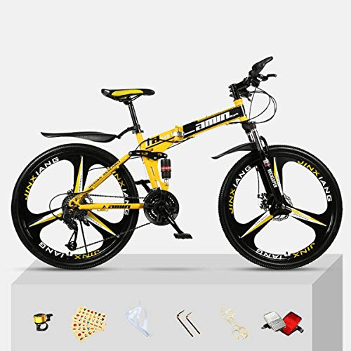 Green orchid Mountain Bike for Men Land Rover Outroad Mountain Bike Steel High-Carbon Steel Frame 26 Inch 21 Speed Bicycle