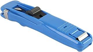 MyLifeUNIT Portable Clam Clip Dispenser & 8 Metal Clips, Blue (Paper Clipper)