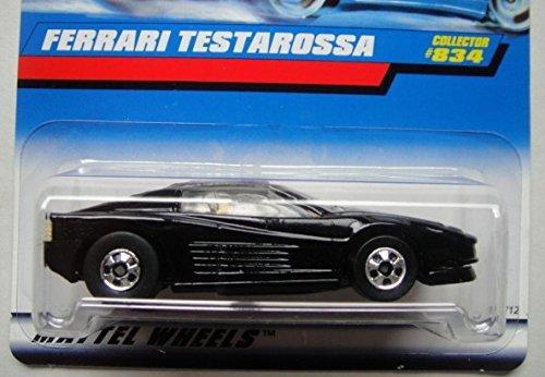 Hot Wheels Black Ferrari Testarossa #834