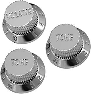 Electric Guitar Tone Volume Control Knobs 1 Volume/ 2 Tone Kit for ST/SQ Electric Guitar