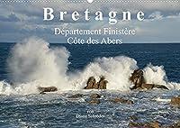 Bretagne. Département Finistère - Côte des Abers (Wandkalender 2022 DIN A2 quer): Bilder, 64km entlang der Côte des Abers (Monatskalender, 14 Seiten )