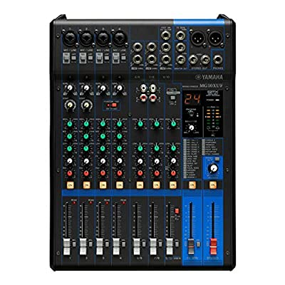 MG10X Analog Mixer (Fader Version)