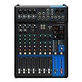 Yamaha MG10XU - Mezclador compacto (versión fader) de 10 canales, preamplificadores de micro D-PRE, efectos SPX y funciones Audio USB