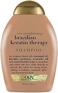 Ogx Shampoo Brazilian Keratin Therapy 13 Ounce (385ml) (2 Pack)