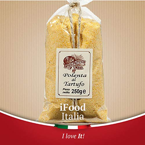 Artisan Polenta mit Trüffeln Antico Pastificio Umbro iFood Italia 250g Umbrien Made in Italy
