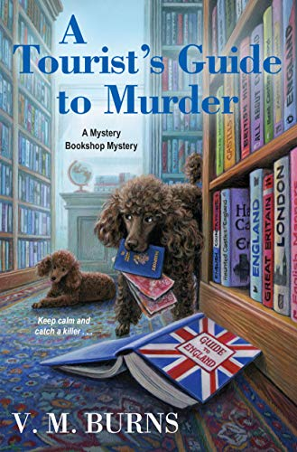 A Tourist's Guide to Murder (Mystery Bookshop Book 6) by [V.M. Burns]