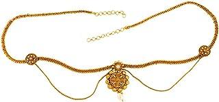 ACCESSHER Royal Antique Kamarband Waist Belt for Women
