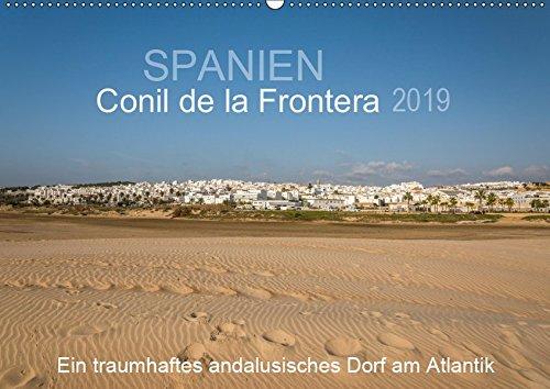 Conil de la Frontera - Ein traumhaftes andalusisches Dorf am Atlantik (Wandkalender 2019 DIN A2 quer): Einblicke in ein bezauberndes Dorf im Herzen von Andalusien (Monatskalender, 14 Seiten )