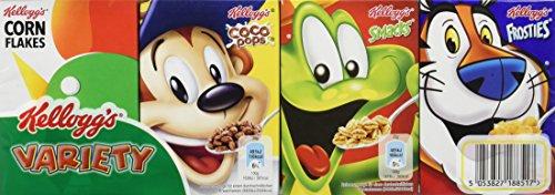 Kellogg's Variety Classic Cerealien | Mini Cornflakes Packungen | Einzelpackung mit jeweils 8 Portionspackungen (1 x 205g)