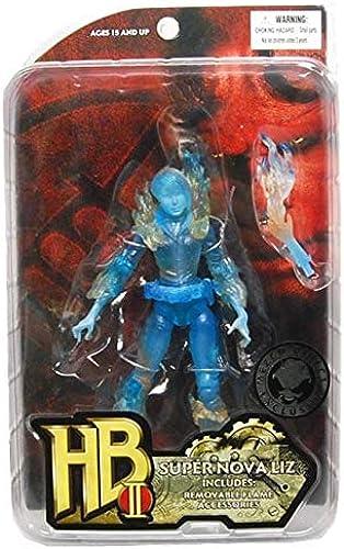 ventas directas de fábrica Hellboy Movie 2 Series 1 Super Nova Liz Figure Case Case Case of 12  entrega de rayos