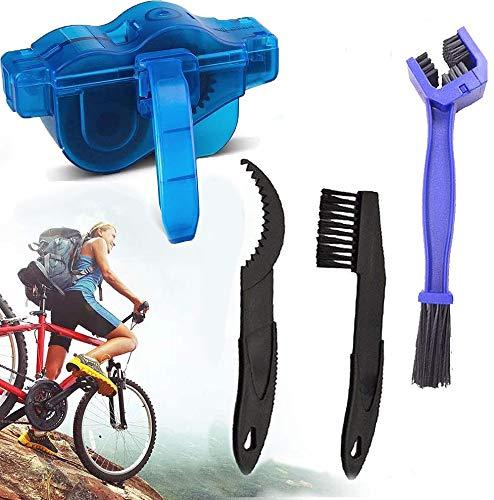 Dongchen Pulisci Catena Bici, Kit Pulizia Per Catena Della Bicicletta, Kit Di Pulizia Della Catena Del Cambio Per Bici Da Strada, Mountain Bike E Moto