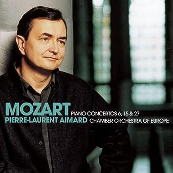 Mozart : Piano Concertos Nos 6, 15 & 27