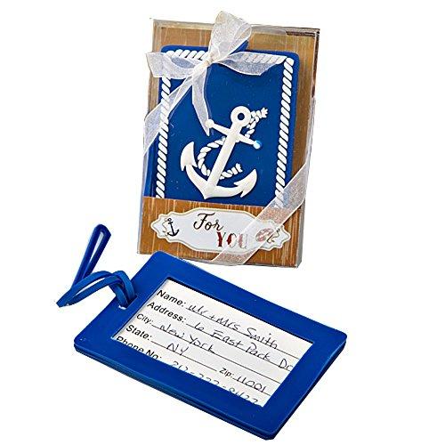 Nautical Anchor Design Luggage Tag (Set of 2)