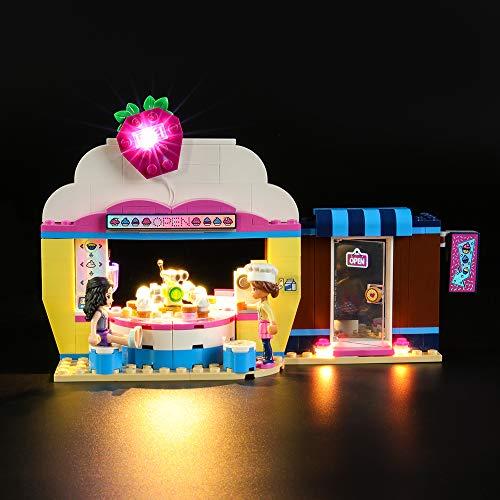 LIGHTAILING Licht-Set Für (Friends Olivias Cupcake-Café) Modell - LED Licht-Set Kompatibel Mit Lego 41366(Modell Nicht Enthalten)