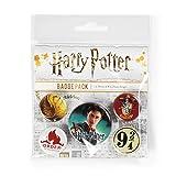 Pyramid International–Harry Potter Grifondoro Distintivo, Multicolore, 10x 12.5x 1.3cm