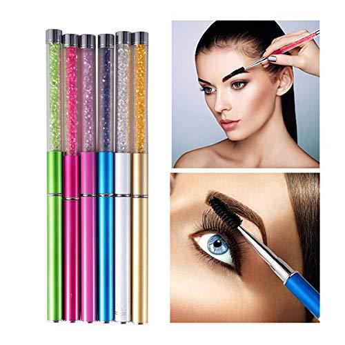 Beaupretty 6 stücke Augenbraue Pinsel mit Kappe Professionelle Mascara Pinsel Zauberstäbe Make-Up...