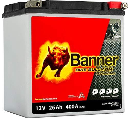 Banner Bike Bull - Batterie AGM deux-roues 26Ah 400A