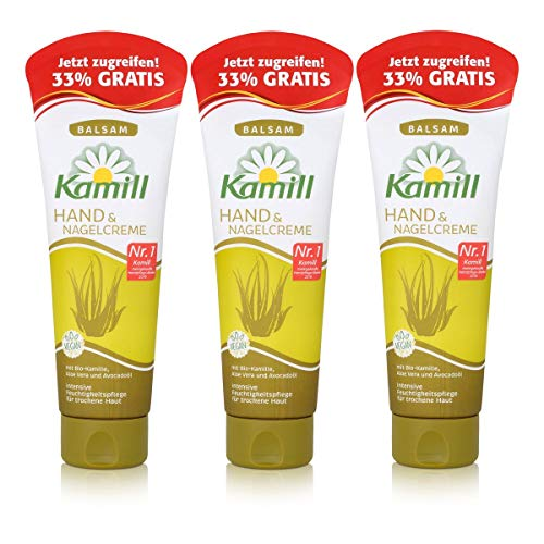 Kamill Hand & Nagel Creme Balsam 133ml (3er Pack)