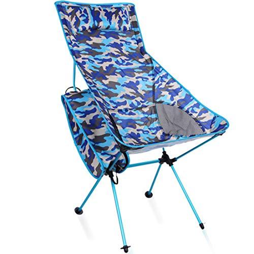 Zhouzl Productos de Camping Camuflaje portátil al Aire Libre Plegable Acampar cChair...