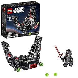 I fan dei giocattoli costruibili LEGO Star Wars potranno ideare avvincenti giochi di ruolo impersonando uno dei cattivi più famosi, grazie a questa versione LEGO a rapida costruzione I bambini si divertiranno a giocare al cattivo pilotando lo shuttle...