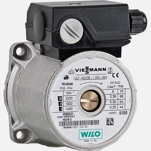 Viessmann Umwälzpumpenmotor 7818046 Divicon VIRS 25/6-3 Vitodens 300 ersetzt 7818330
