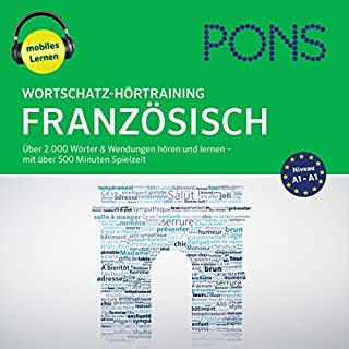Wortschatz-Hörtraining Französisch: Über 2.000 Wörter & Wendungen hören und lernen                   By:                                                                                                                                 Majka Drischler,                                                                                        Christiane Wirth                               Narrated by:                                                                                                                                 Bert Cöll,                                                                                        Estelle Hubert                      Length: 8 hrs and 48 mins     Not rated yet     Overall 0.0