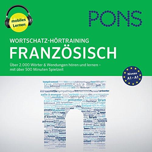 Wortschatz-Hörtraining Französisch: Über 2.000 Wörter & Wendungen hören und lernen Titelbild