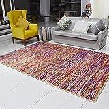 Jadorel - Alfombra Kilim 160 x 230 cm, rectangular reciclado, multicolor