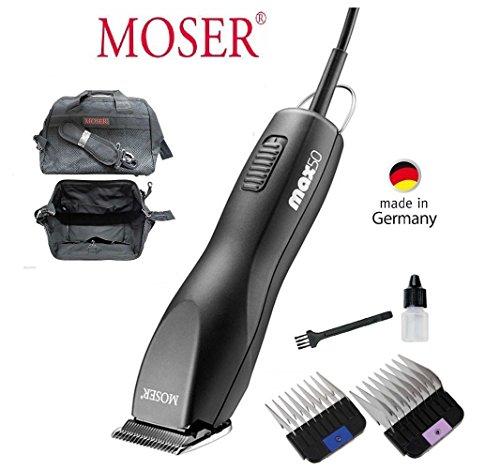 MOSER MAX 50 1250-0052 mit Moser Friseurtasche in Schwarz