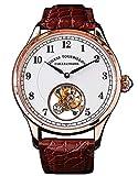 SU8000GW Tourbillon Master Seagull ST8000 Reloj mecánico automático para hombre con movimiento de cristal de zafiro 1963