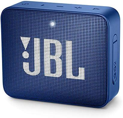 JBL GO2 – Alto-falante Bluetooth ultra portátil à prova d'água – Azul