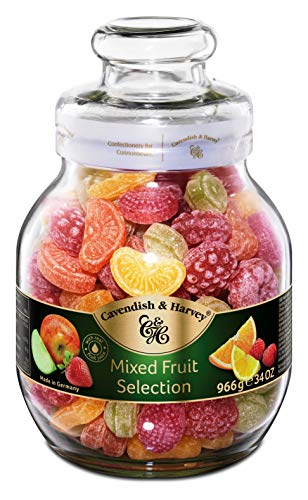 Cavendish & Harvey Fruit Candies 966g Dose (Frucht Bonbons)