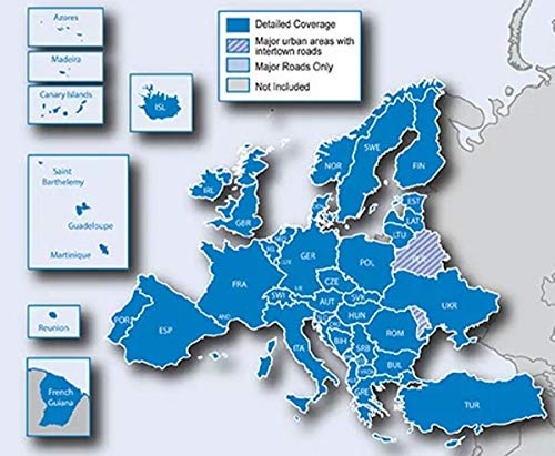 Garmin Carte microSD City Navigator Europe NT 2020 POI et SPEEDCAMS pour GPS