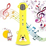 Micrófono Karaoke Bluetooth,Bear Bro Micrófono de Karaoke Máquina de canto de micrófono inalámbrico el mejor regalo cumpleaños Karaoke Machines