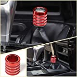 Voodonala for 4runner 4WD Four-Wheel Drive Switch Button Knob for Toyota 4runner SUV 2010-2018 (Aluminum Alloy Red)