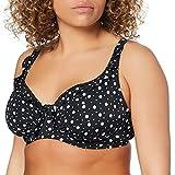 Pour Moi? Mini Maxi Underwired Top Parte de Arriba de Bikini, Negro (Black Black), 85H (Talla del Fabricante: 32FF) para Mujer