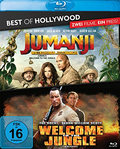Jumanji: Willkommen im Dschungel / Welcome to the Jungle - Best of Hollywood [Blu-ray]