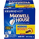 Maxwell House Morning Boost K Cup Coffee Pods (12 Count)