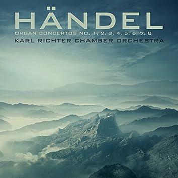 Händel: Organ Concertos No.'s 1, 2, 3, 4, 5, 6, 7 & 8