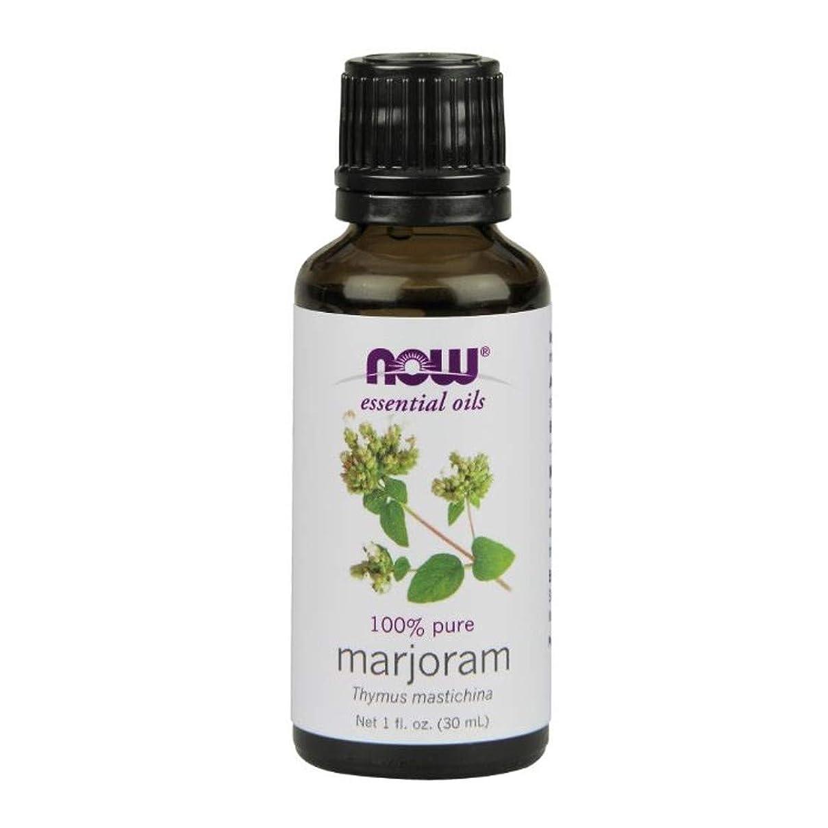 調べる寄り添う排気Now Foods Marjoram Oil 1 fl oz [並行輸入品]
