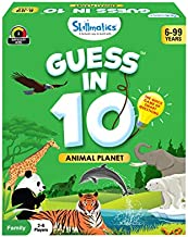 Skillmatics Guess in 10 Animal Planet | Card Game of Smart Questions | Super Fun for Travel, Family Game Night & Summer Camps | Gifts for Ages 6-99