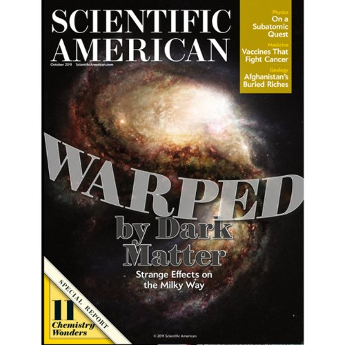 Scientific American, October 2011 audiobook cover art