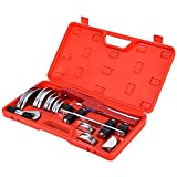 Tube Bender Kit Refrigeration Ratcheting Tubing benders Hand Tool 1/4 to 7/8 Inch Aluminium Alloy Replacement Head